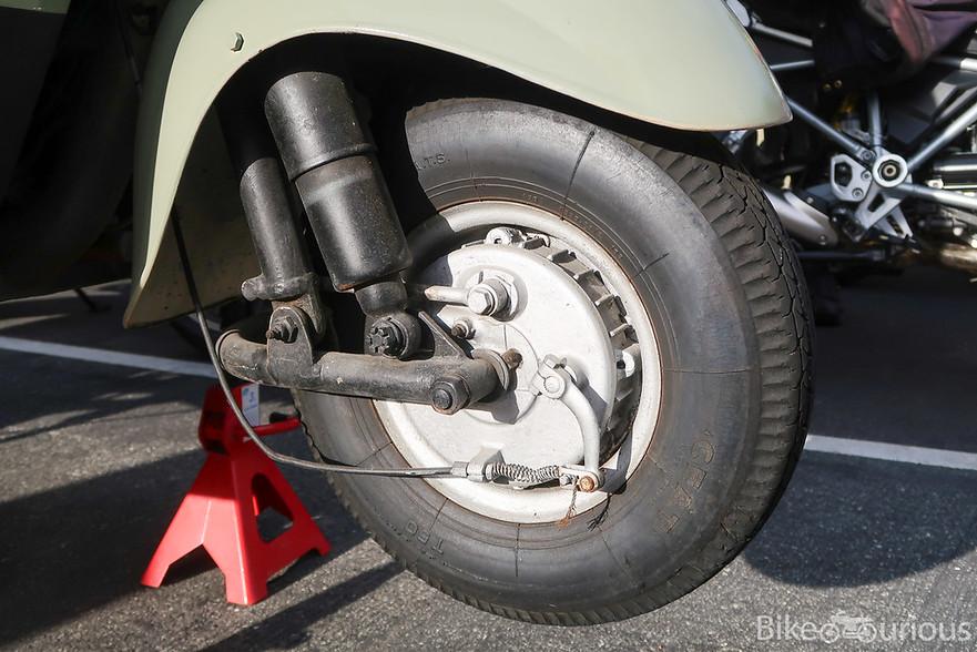 MV Agusta Trasporto Tevere - Front Wheel