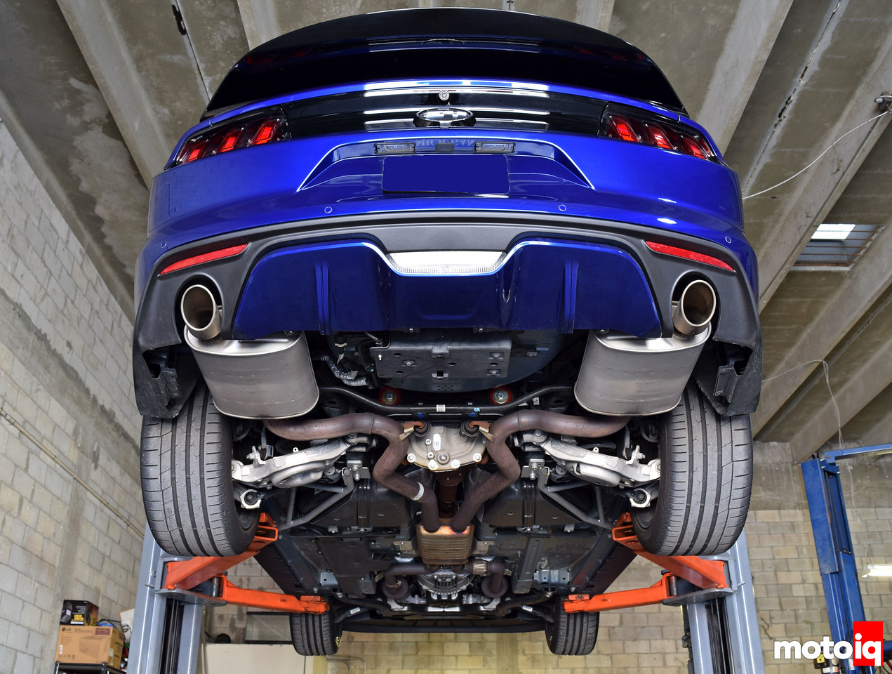 ford performance cat back exhaust and