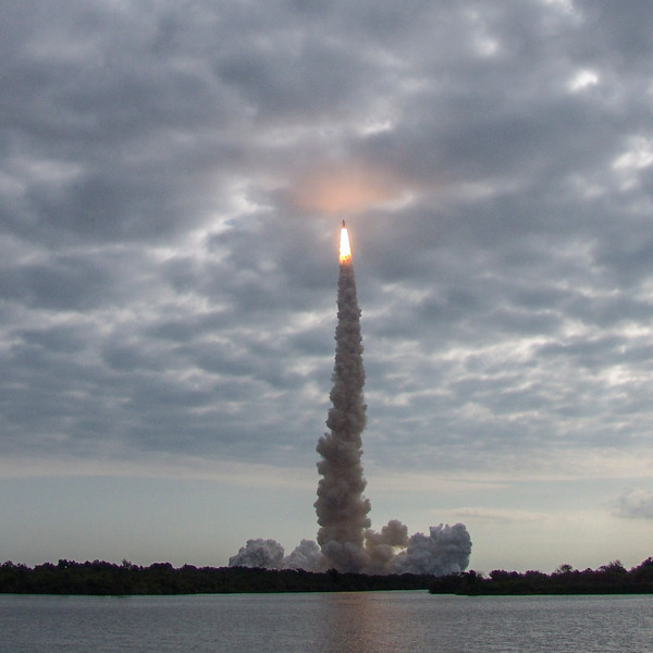 Blast from the past: I witnessed Endeavour's last launch in 2011 from NASA's press area, three miles from the launchpad.