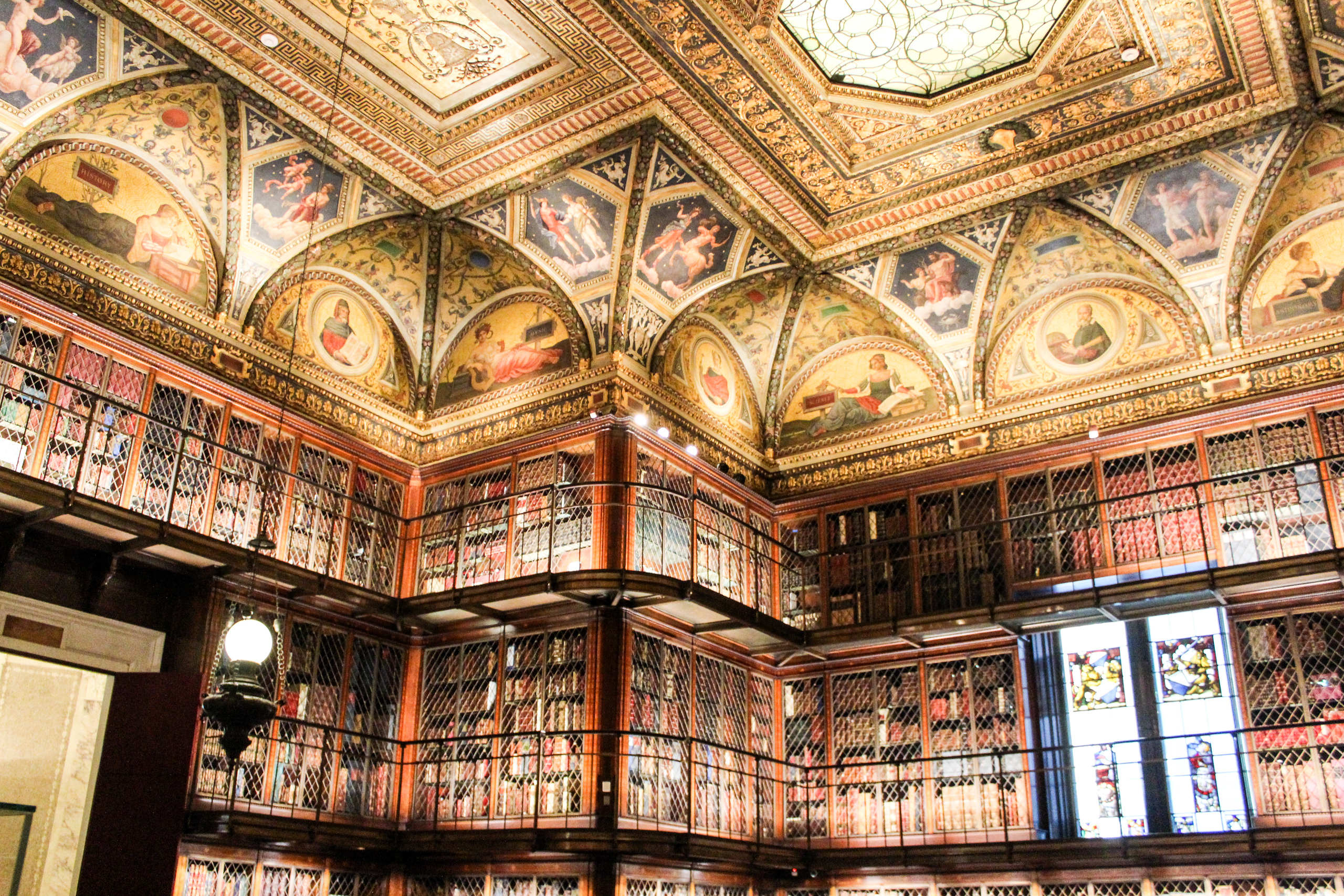 one way for how to recover from a breakup is going to a new museum like the morgan library