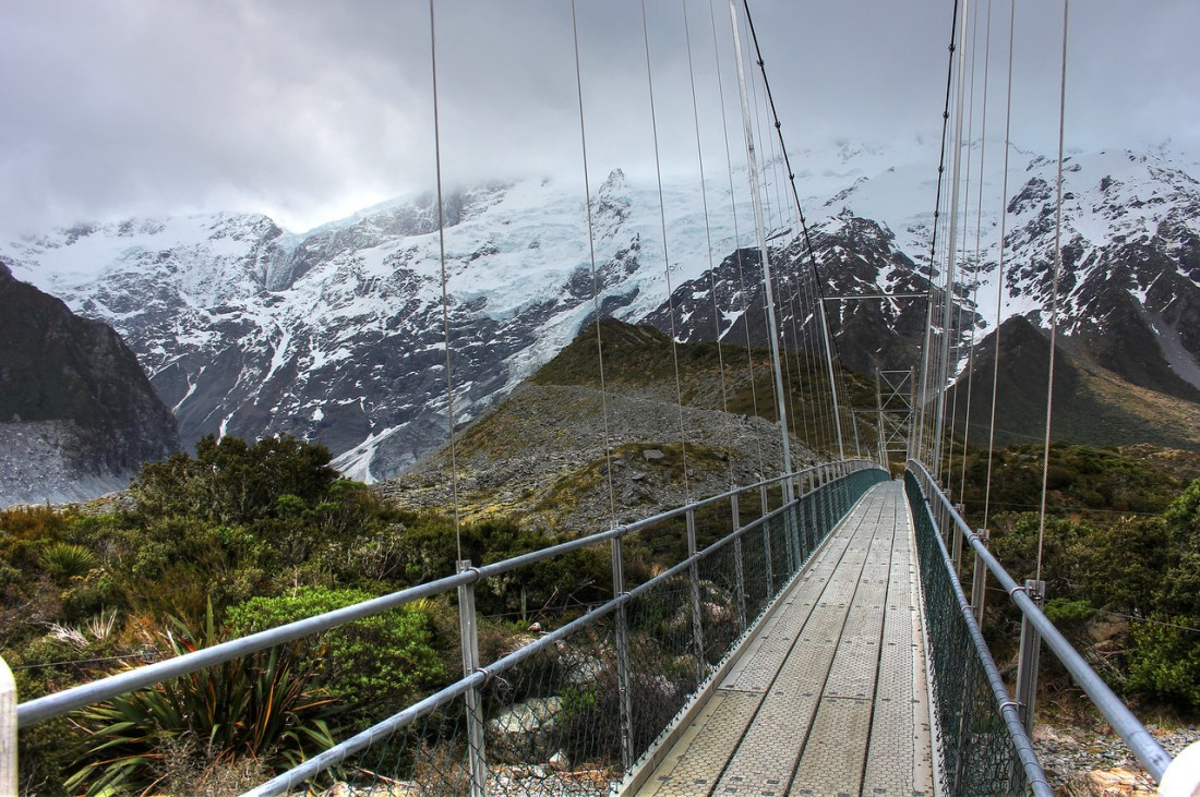Hooker Valley Bridge