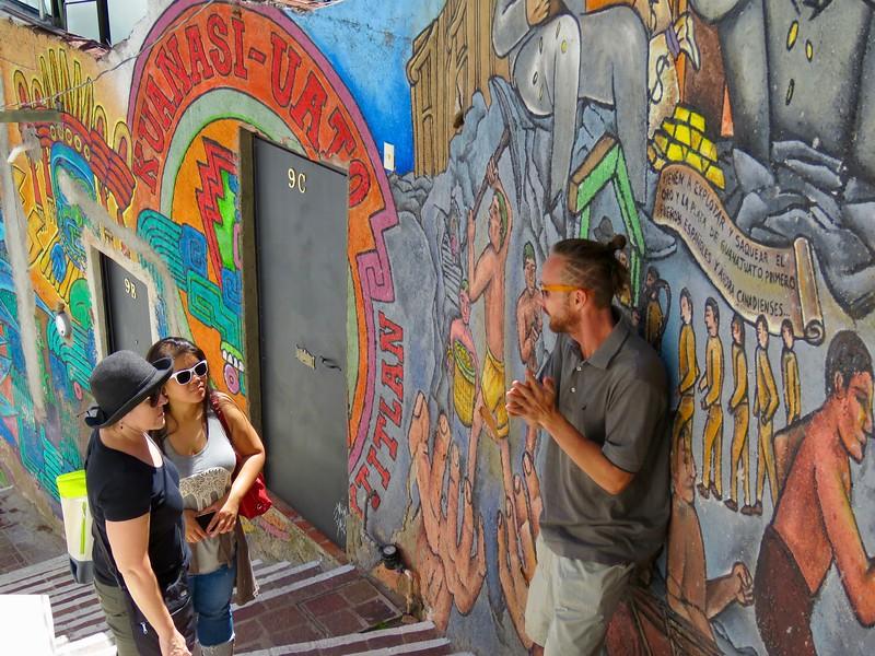Murale - Guanajuato Street Food Tour - Guanajuato, Mexico