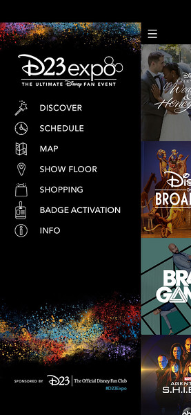 d23 expo mobile app 20192