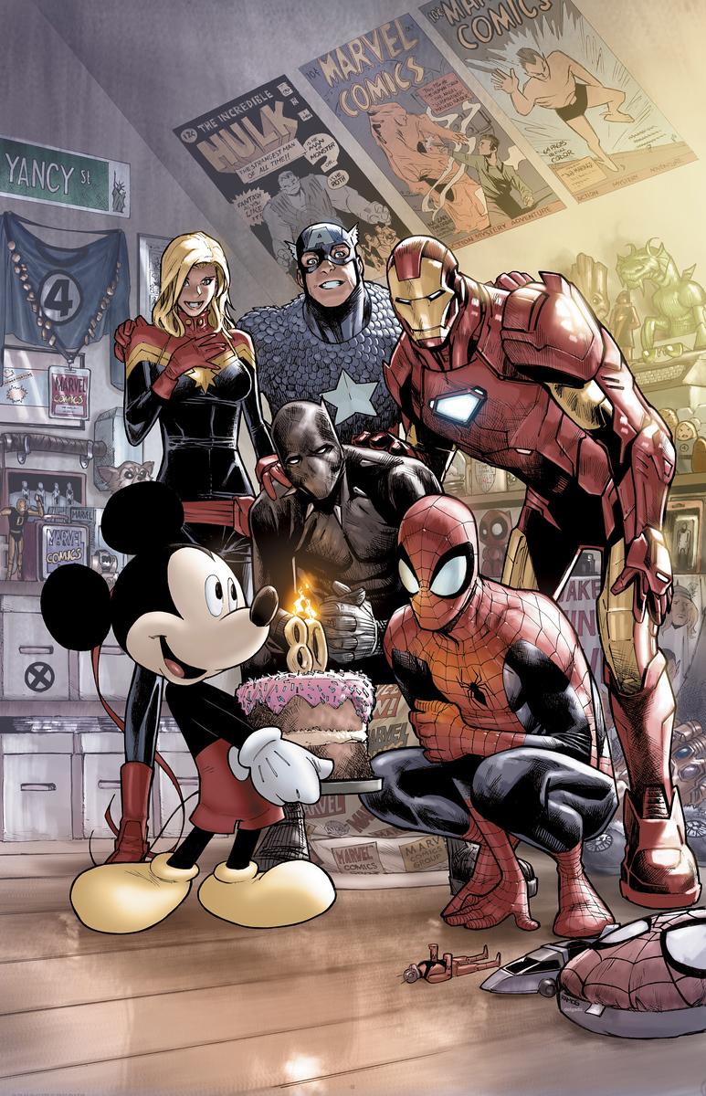 Marvel Comics 1000 D23 Variant-vertical