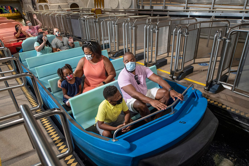 Physical Distancing on Attractions at Walt Disney World Resort