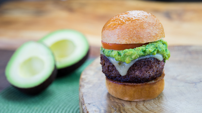 Disney California Adventure Food & Wine Festival – Petite Impossible™ Burger with Guac and Pepper Jack Cheese