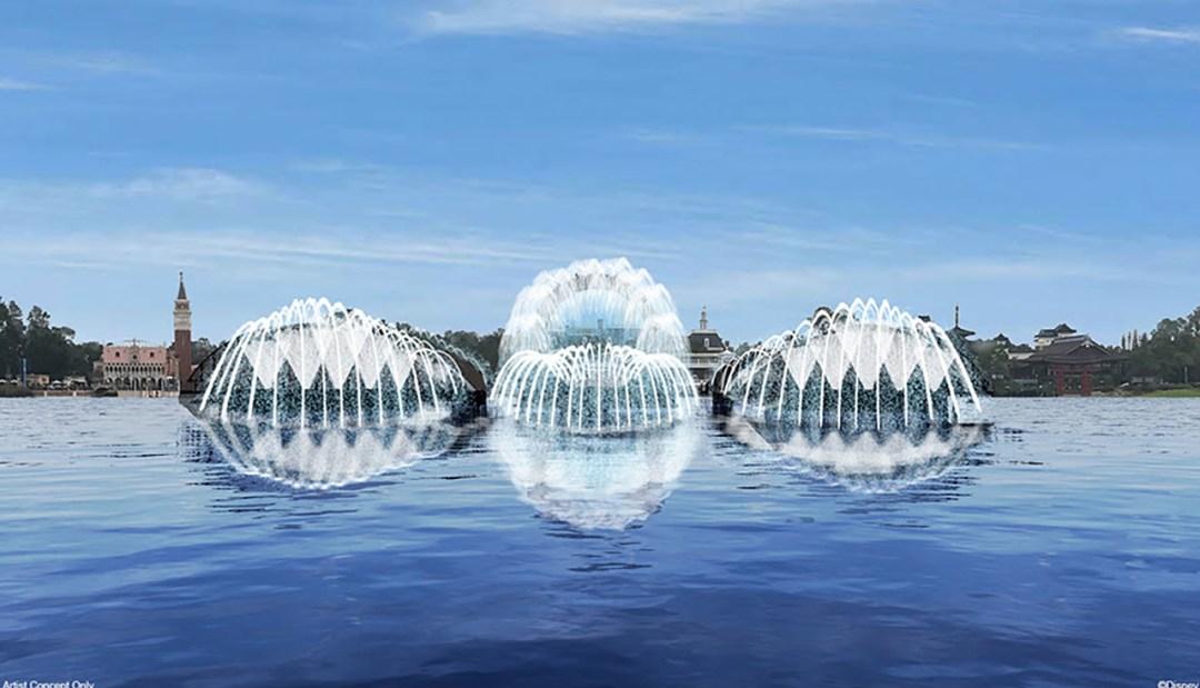 harmonious epcot daytime fountains-