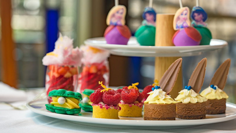 Disney Princess Breakfast Adventures at Disney's Grand Californian Hotel & Spa - Assorted Desserts