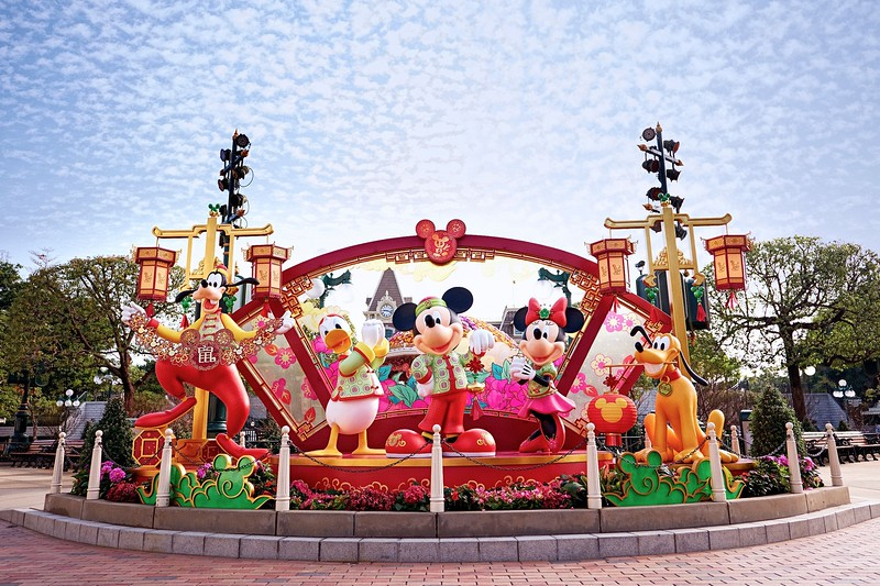 chinese new year hkdl 20209