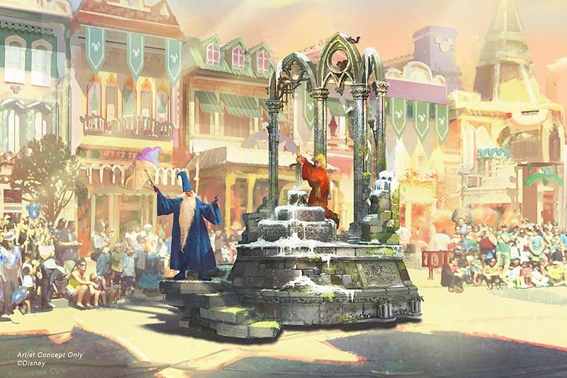 magic happens parade concept art 2