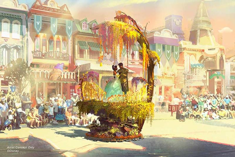 magic happens parade concept art 3