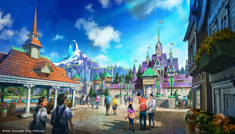 Gorgeous Tangled Themed Guest Rooms At Tokyo Disneyland: CONCEPT ART: New Areas Featuring Never Land, Arendelle
