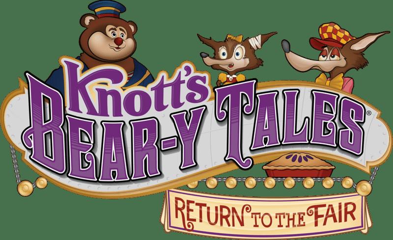 Knott's Bear-y Tales Logo
