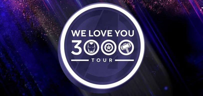 we love you 3000 tour