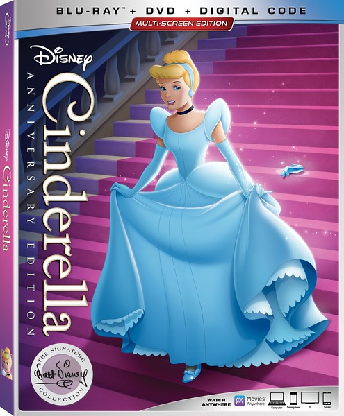 REVIEW: Walt Disney Signature Collection release of CINDERELLA brings worthwhile extras, hours of materials