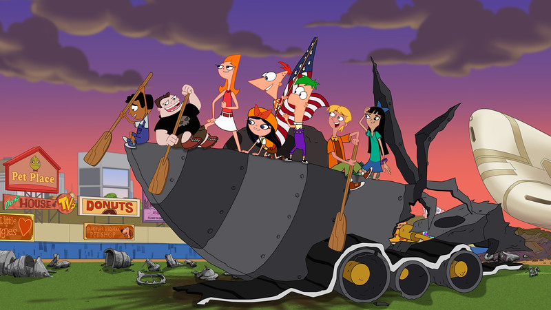 phineas and ferb candace against the universe comic con at home still (2)