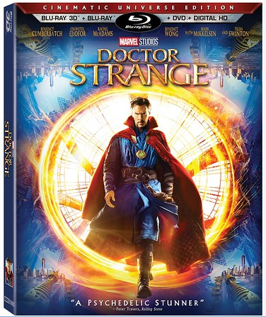 REVIEW: DOCTOR STRANGE comes home with excitingly robust set of extras