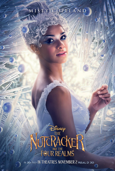 Misty Copeland features in new look at THE NUTCRACKER AND THE FOUR REALMS