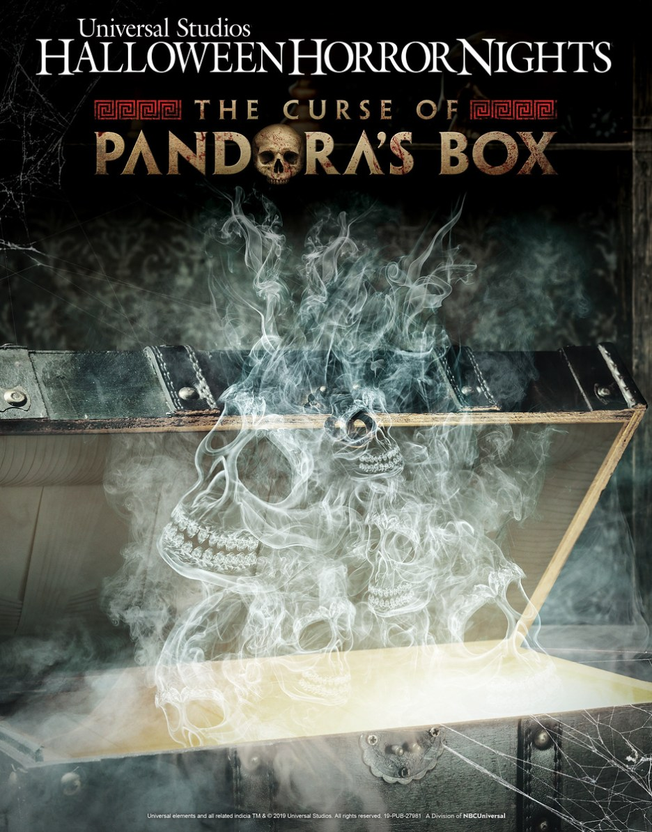 """Universal Studios Hollywood Swings Open """"The Curse of Pandora's Box,"""" an All-Original """"Halloween Horror Nights"""" Maze Inspired by the Infamous Greek Mythology Tale"""