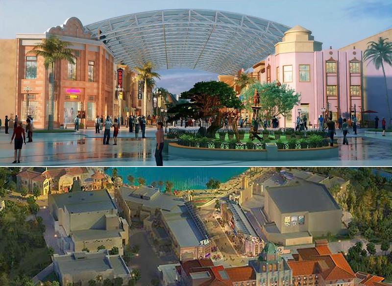 universal beijing resort - hollywood boulevard