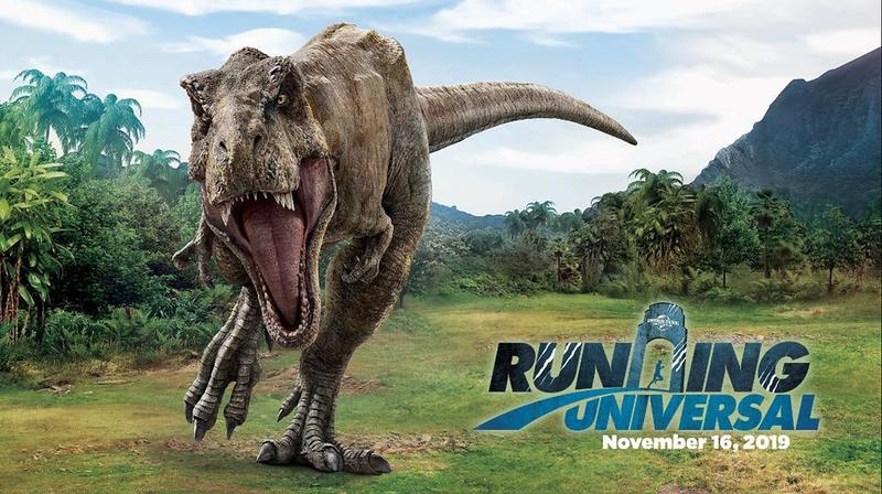 RUNNING UNIVERSAL JURASSIC WORLD 5K Run