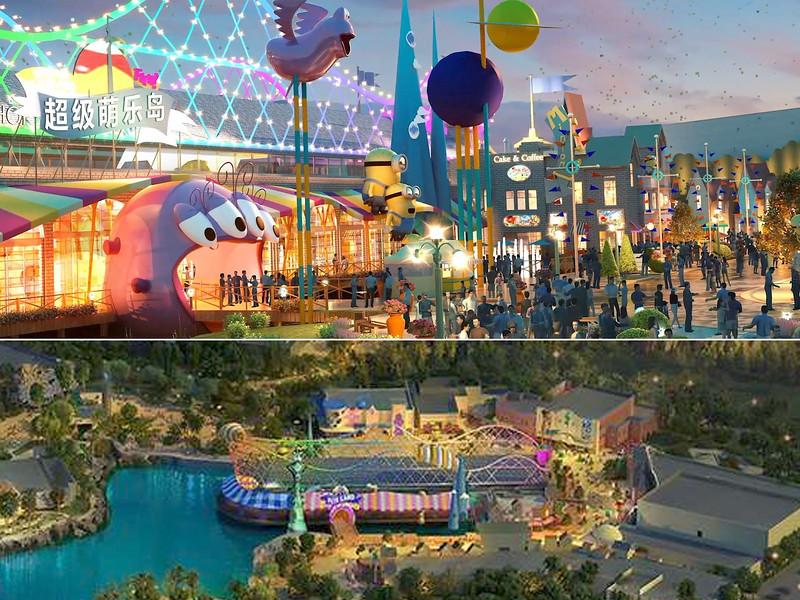 universal beijing resort - minion land