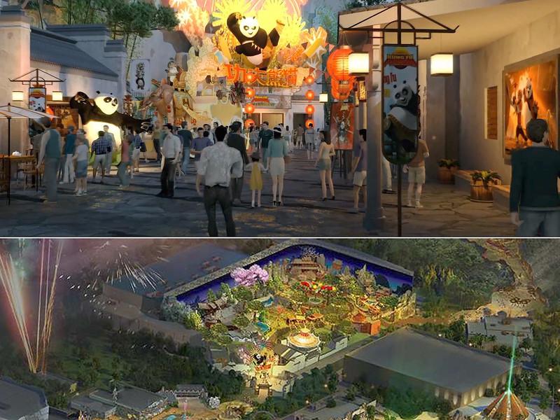 universal beijing resort - kung fu panda land of awesomeness