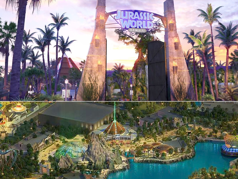 universal beijing resort - jurassic world isla nublar
