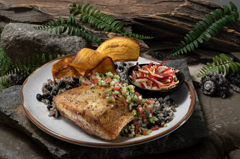 Roasted Red Snapper from Jurassic Cafe at Universal Studios Hollywood