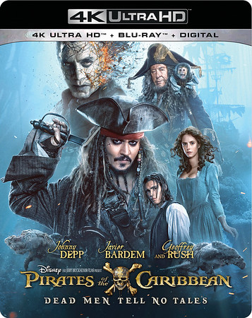 REVIEW: 4K Ultra-HD release of PIRATES OF THE CARIBBEAN: DEAD MEN TELL NO TALES delivers dazzle