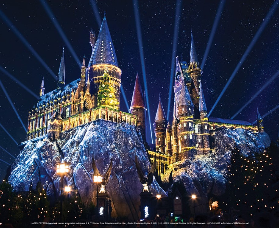 """Christmas in the Wizarding World of Harry Potter"" at Universal Studios Hollywood"