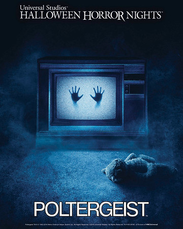 MGM'S SUPERNATURAL CULT HORROR FILM POLTERGEIST COMES TO LIFE FOR THE FIRST TIME EVER IN ALL-NEW HAUNTED MAZES AT UNIVERSAL STUDIOS' HALLOWEEN HORROR NIGHTS