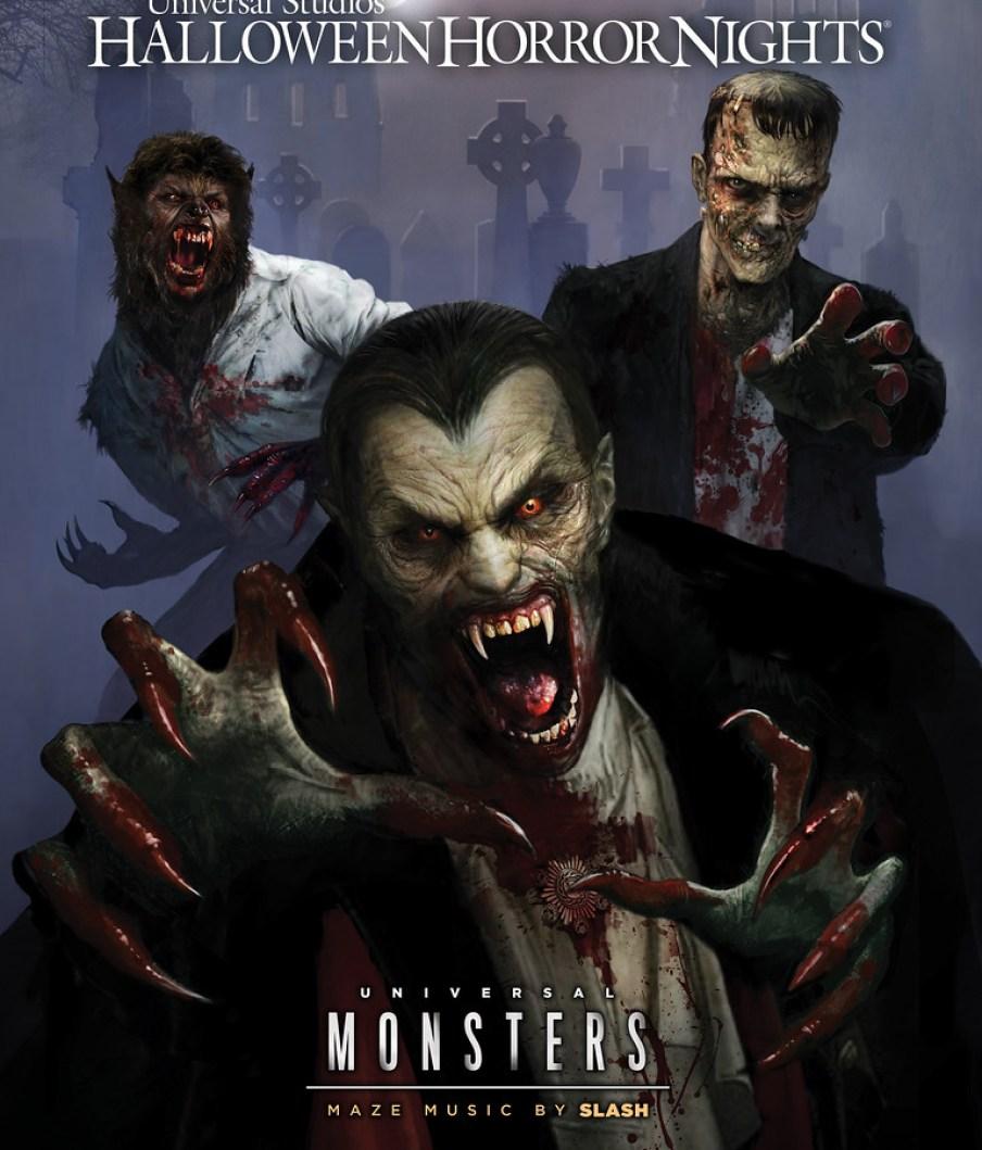 Universal Monsters at HHN 2018 (logo)