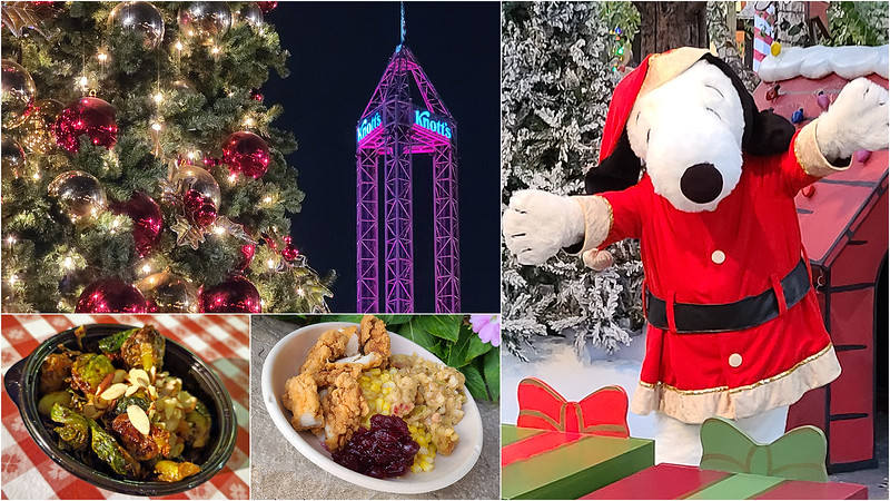 PICTORIAL Festive KNOTT'S TASTE OF MERRY FARM outdoor event brings yuletide treats, sweets, and cheer
