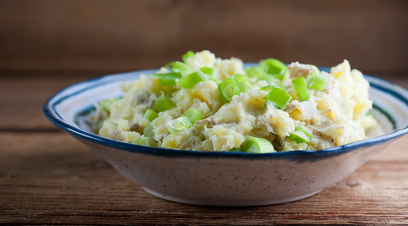 Warm Mashed Potato Salad
