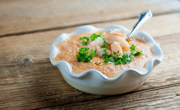 Easy Shrimp Gazpacho