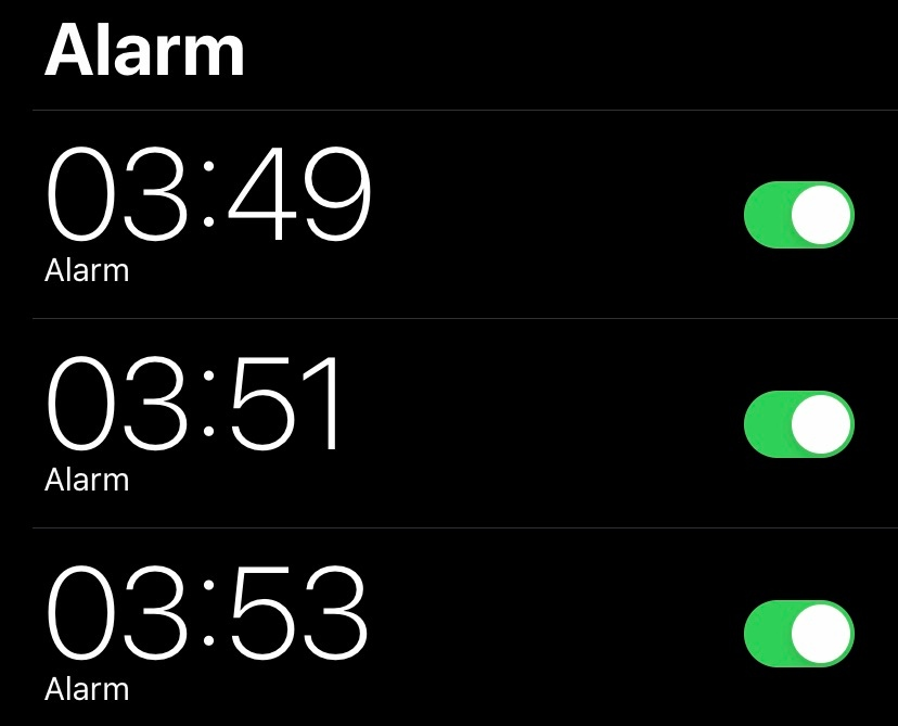 Set Your Alarm Clock To Odd Numbers To Wake Up For Early Flights
