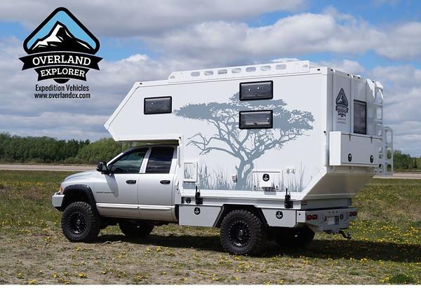 overland explorer composite flatbed