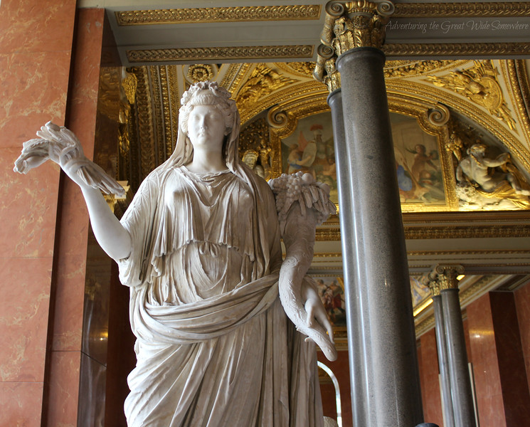 The Empress Livia represented as Ceres, the motherly Greek goddess of harvest and fertility.