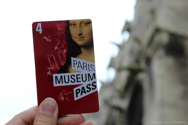The Paris Museum Pass in front of Notre Dame. The Pass makes sightseeing in Paris easy, convenient, and even affordable.