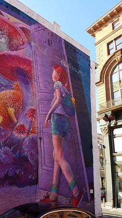 beautiful street art in Rhode Island