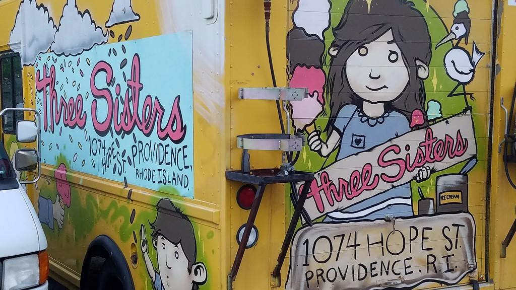 Three Sisters ice cream truck