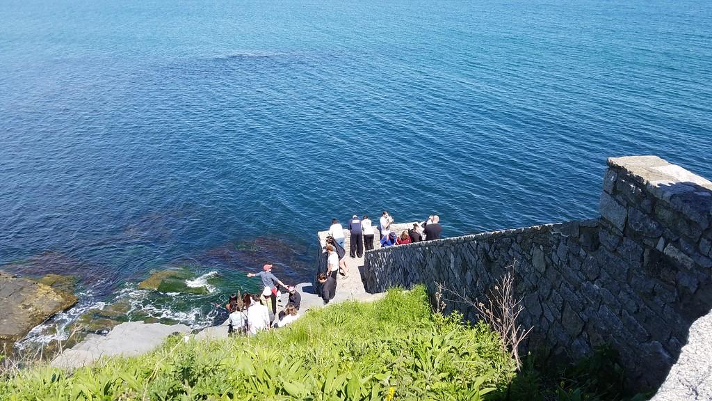 40 Steps on Cliff Walk in Rhode Island