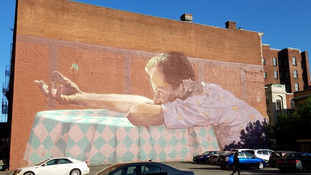 Street art in Rhode Island