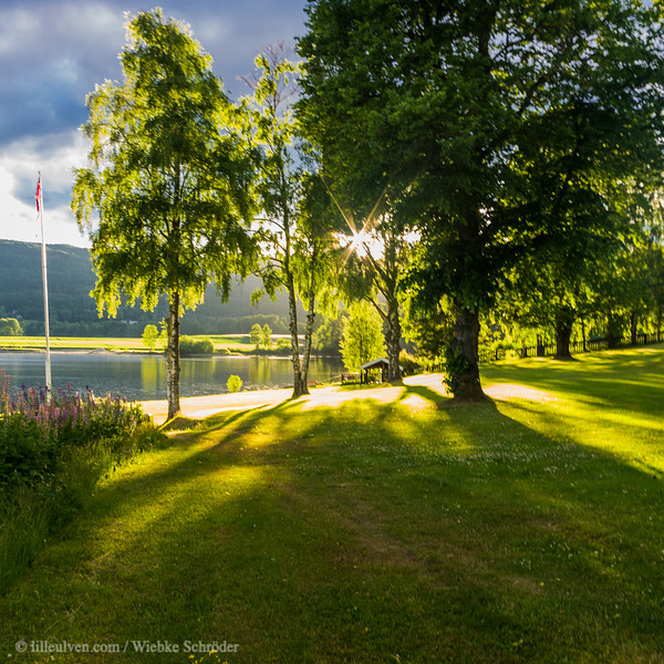 A summers evening in Noresund