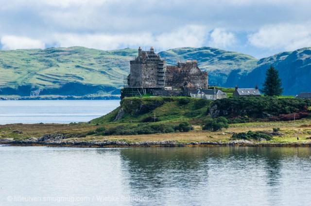 Duart Castle from Lochdon