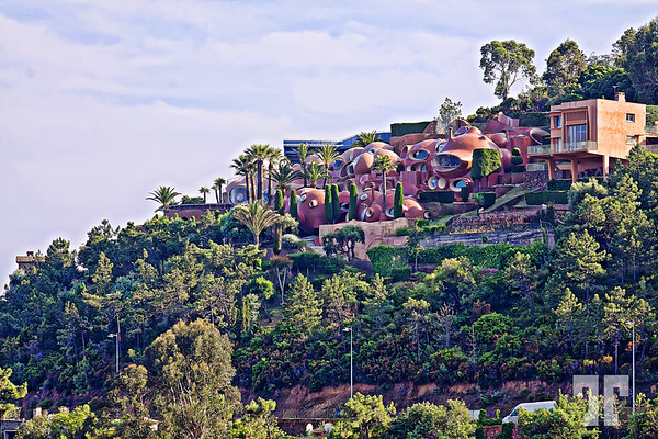 Buildings on Frech Riviera