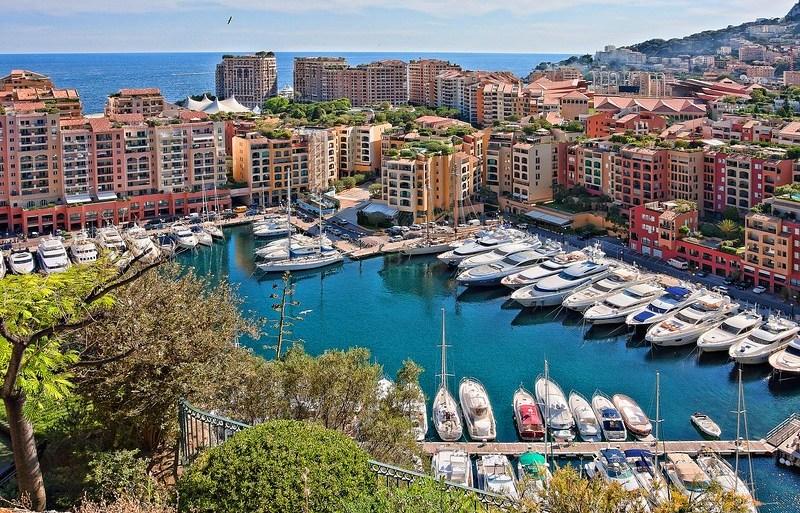 Luxury condos and marinas in Monaco