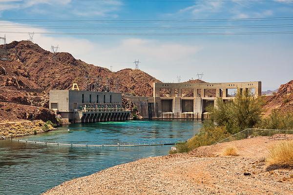 Havasu Lake Parker Dam, Arizona