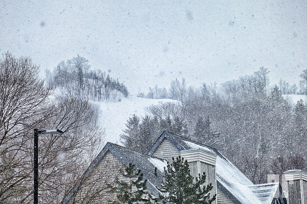 Blue Mountain Collingwood Ontatio, snow